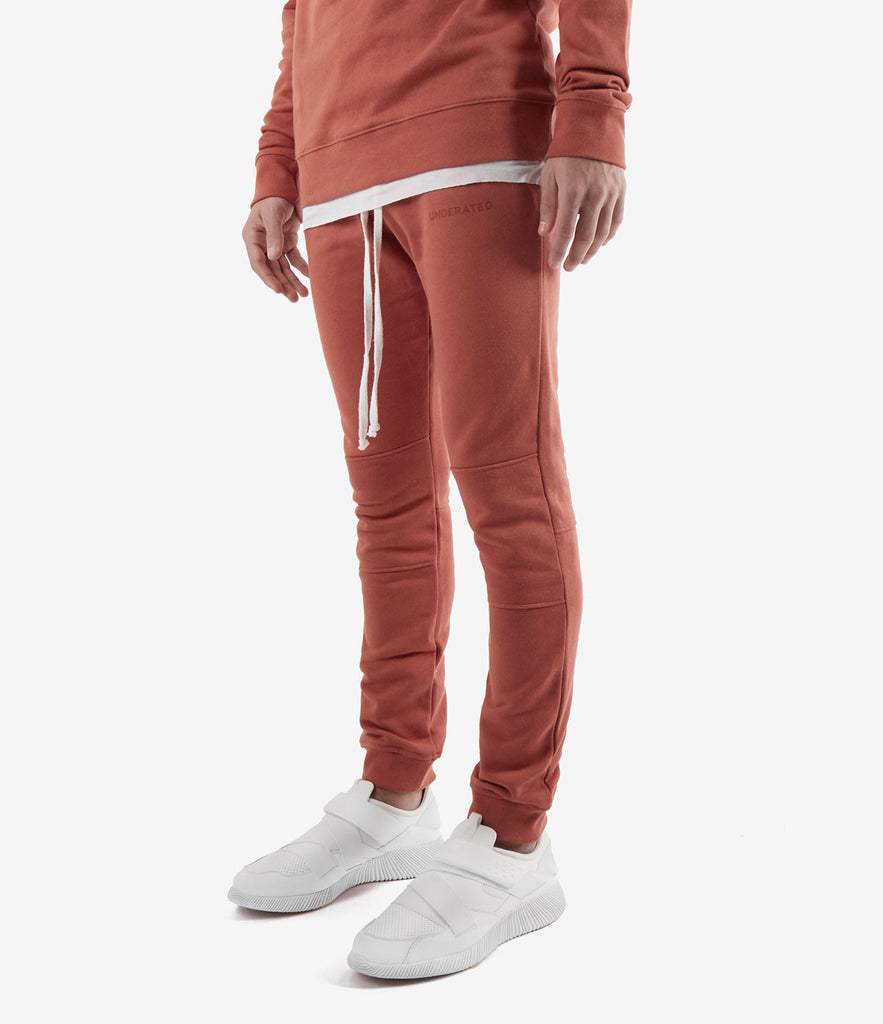 TR355 Essential Joggers - Rust - underated london - underatedco - 3