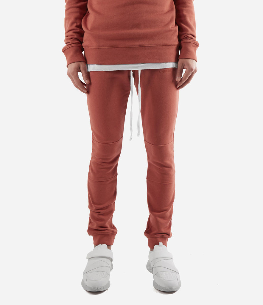 TR355 Essential Joggers - Rust - underated london - underatedco - 2