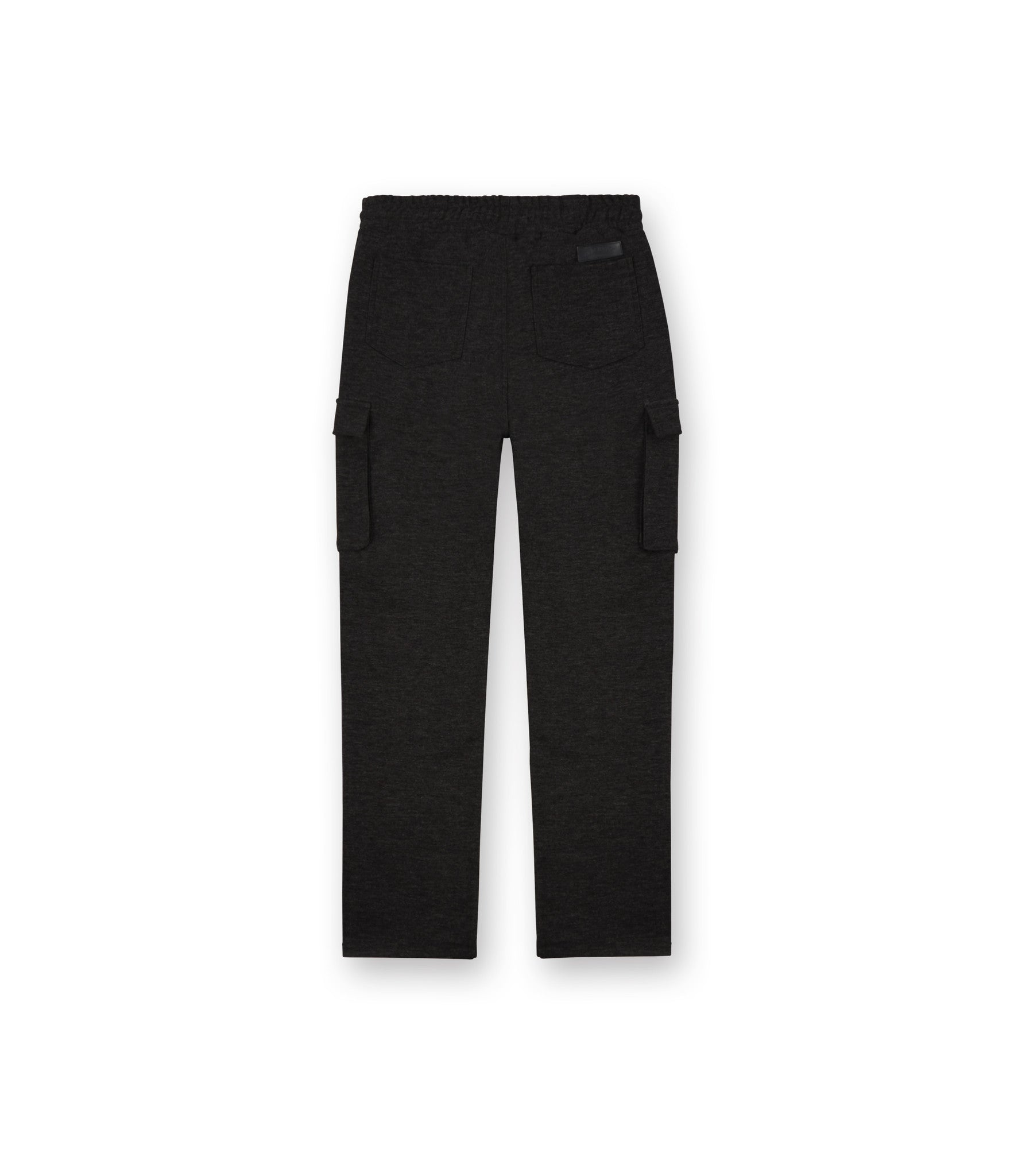 TR253 Wool Blend Cropped Cargo Pants - Black - underated london - underatedco - 3