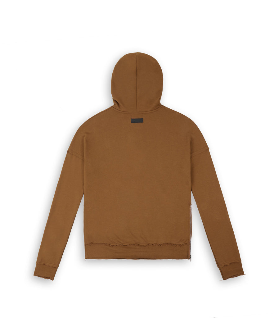 HD315 Exile Oversized Hoody - Clay - underated london - underatedco - 3