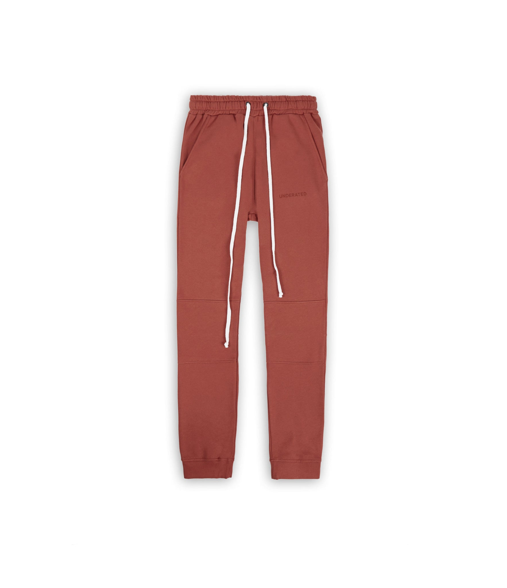 TR355 Essential Joggers - Rust - underated london - underatedco - 1