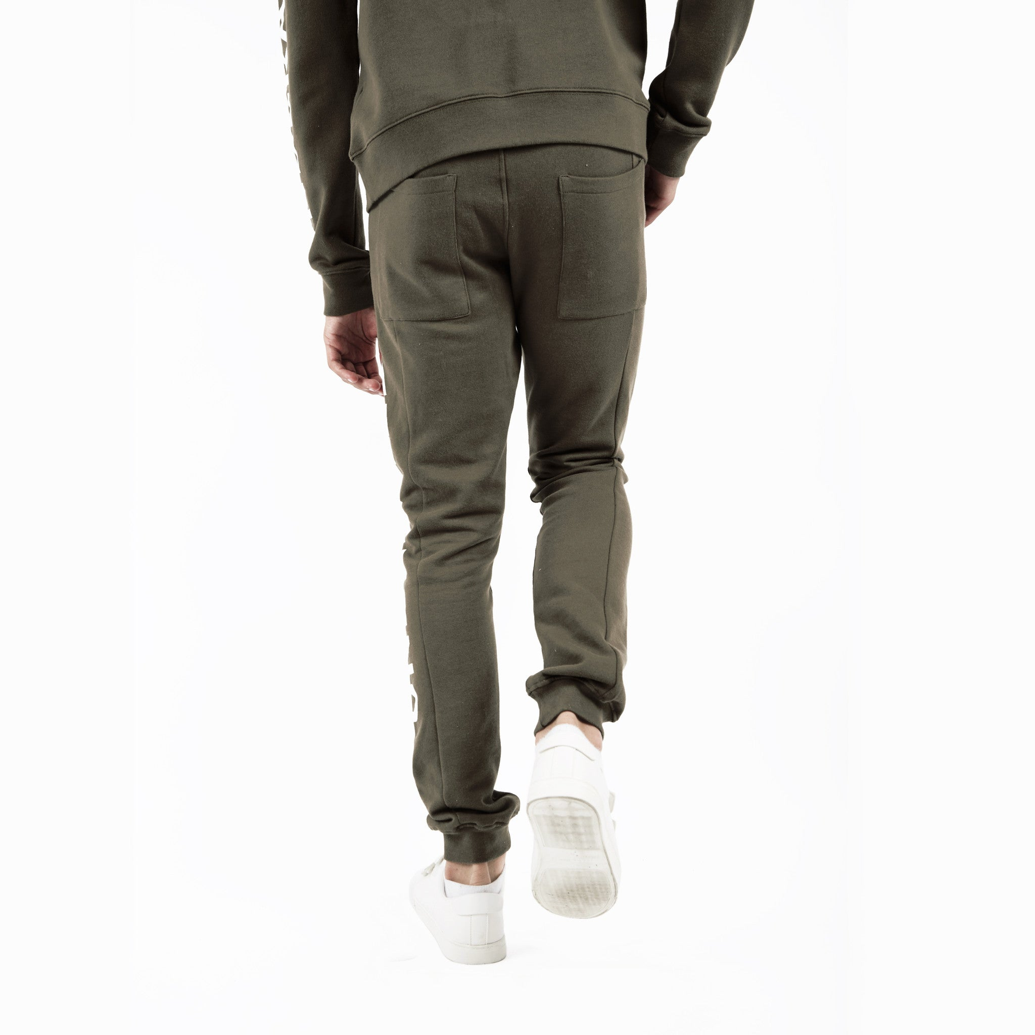 TR351 Essential Printed Joggers - Khaki - underated london - underatedco - 6