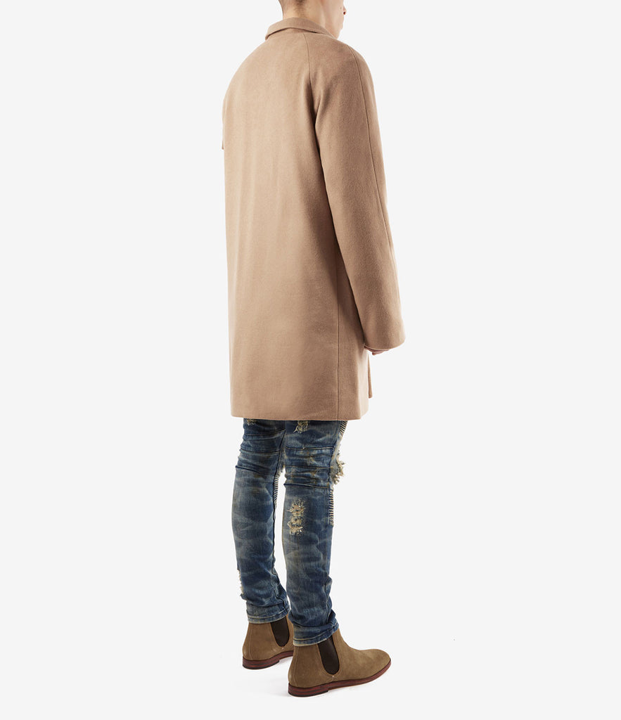 CT369 Utility Wool Overcoat - Camel - underated london - underatedco - 3