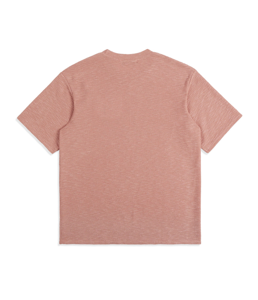 TS421 Oversized Tee - Pink Knit - UNDERATED