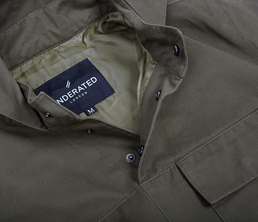 JK371 Overhead Jacket - Khaki - UNDERATED