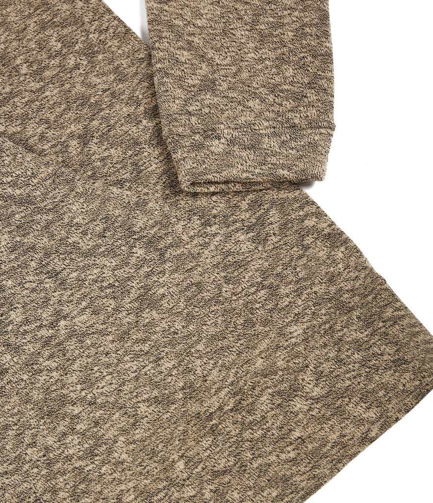 HD378 Oversized Knit Hoody - Sand/Black - underated london - underatedco - 6