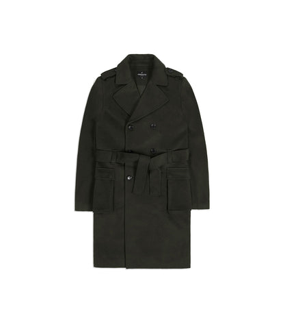CT353 Military Trench Coat - Khaki - underated london - underatedco - 1