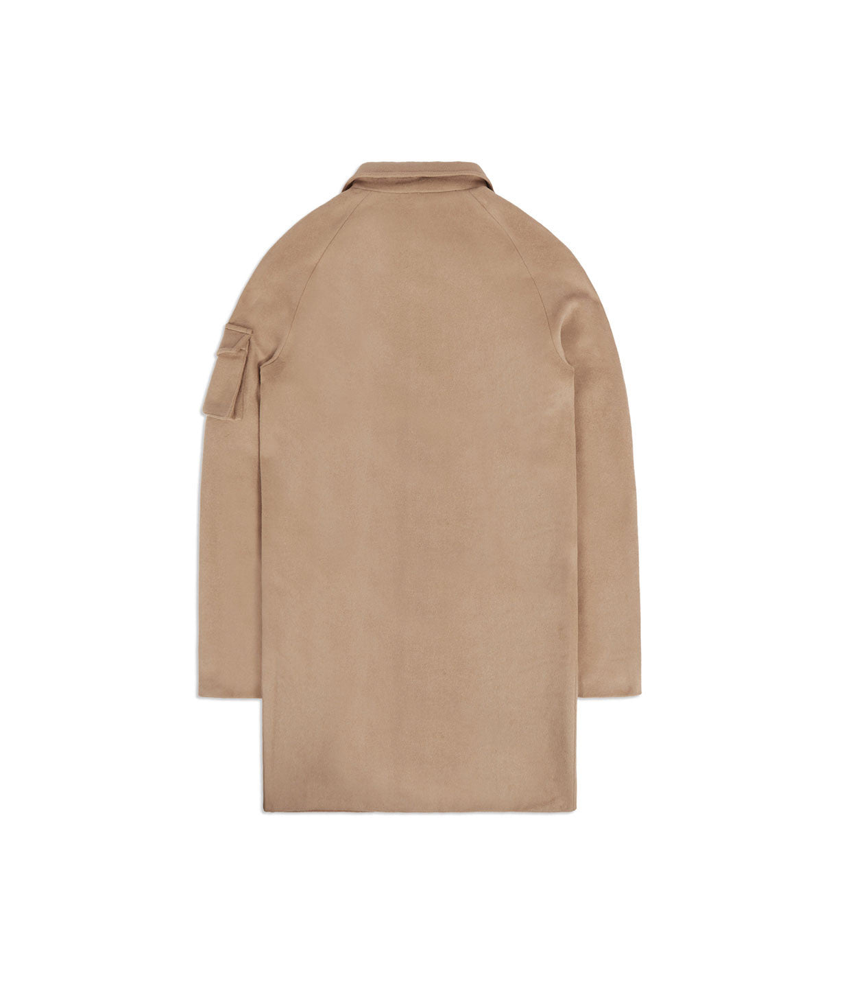 CT369 Utility Wool Overcoat - Camel - underated london - underatedco - 7