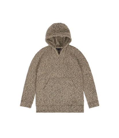HD378 Oversized Knit Hoody - Sand/Black - underated london - underatedco - 1