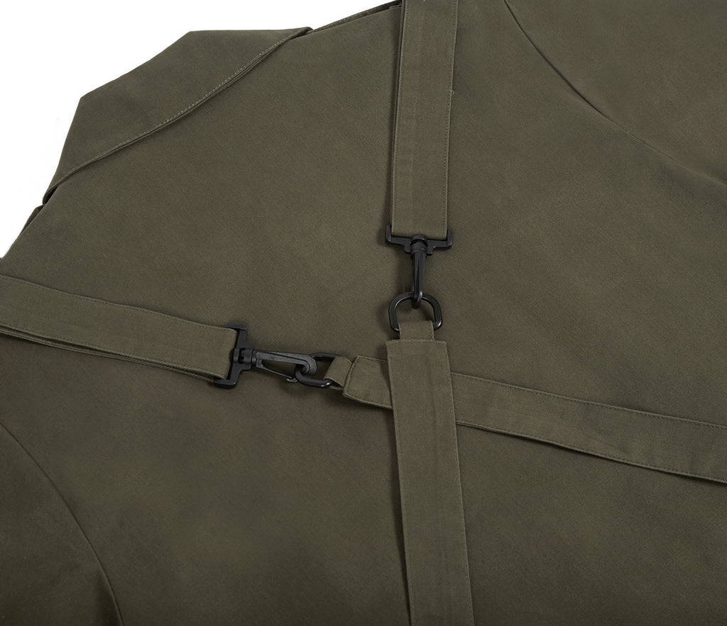 JK356 Utility Strap Jacket - Khaki - underated london - underatedco - 6