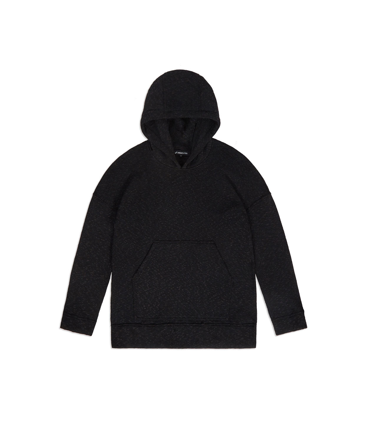 HD378 Oversized Knit Hoody - Charcoal/Black - underated london - underatedco - 7
