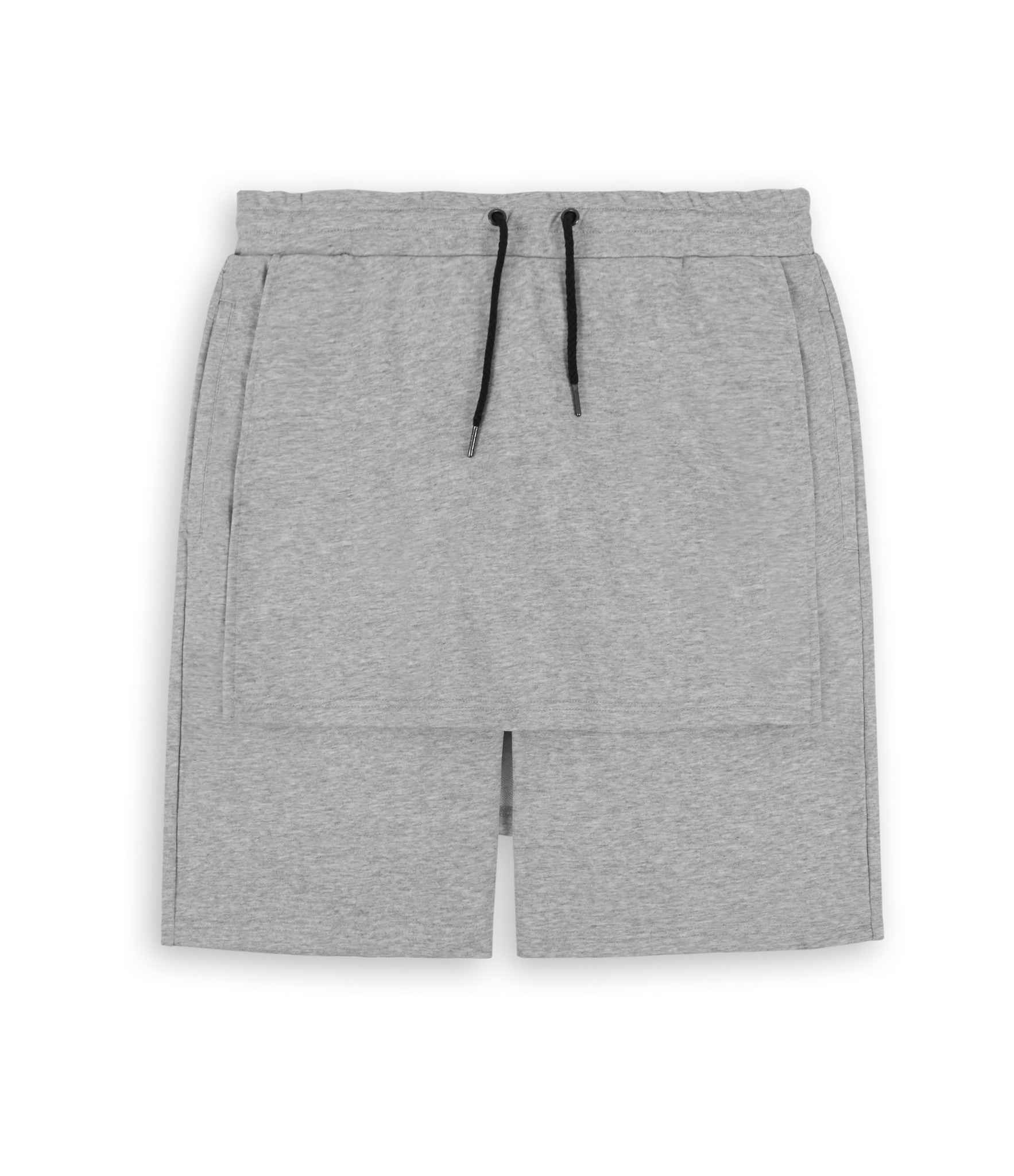 SR054 Layered Shorts - Grey - underated london - underatedco - 1