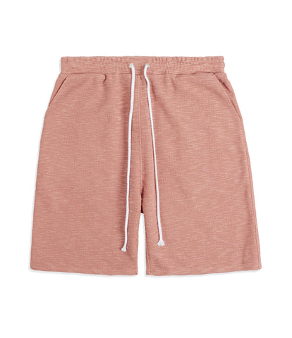 SR427 Straight Leg Shorts - Pink Knit - UNDERATED