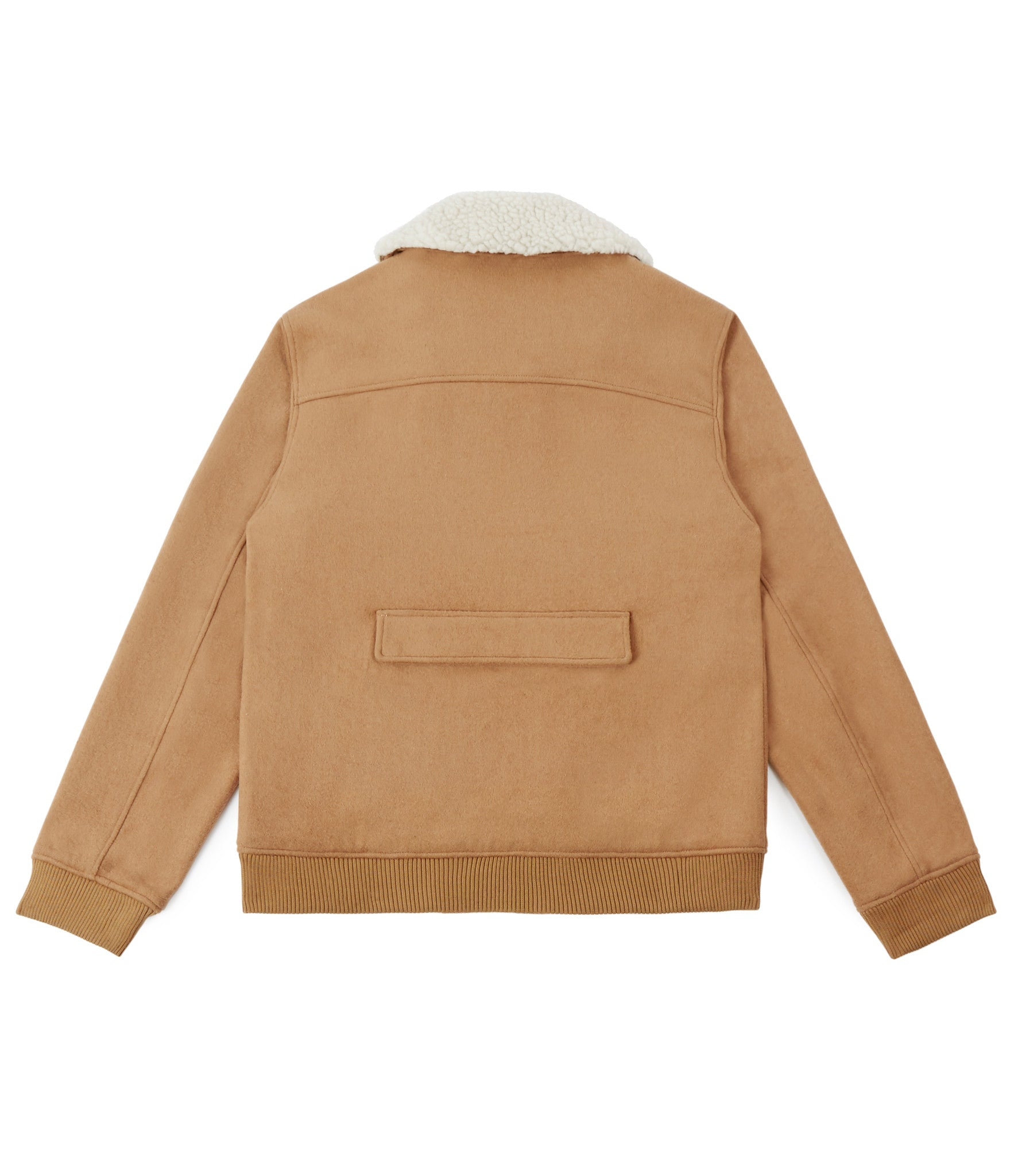 BM20 Shearling-Trimmed Wool Jacket - Camel - underated london - underatedco - 4