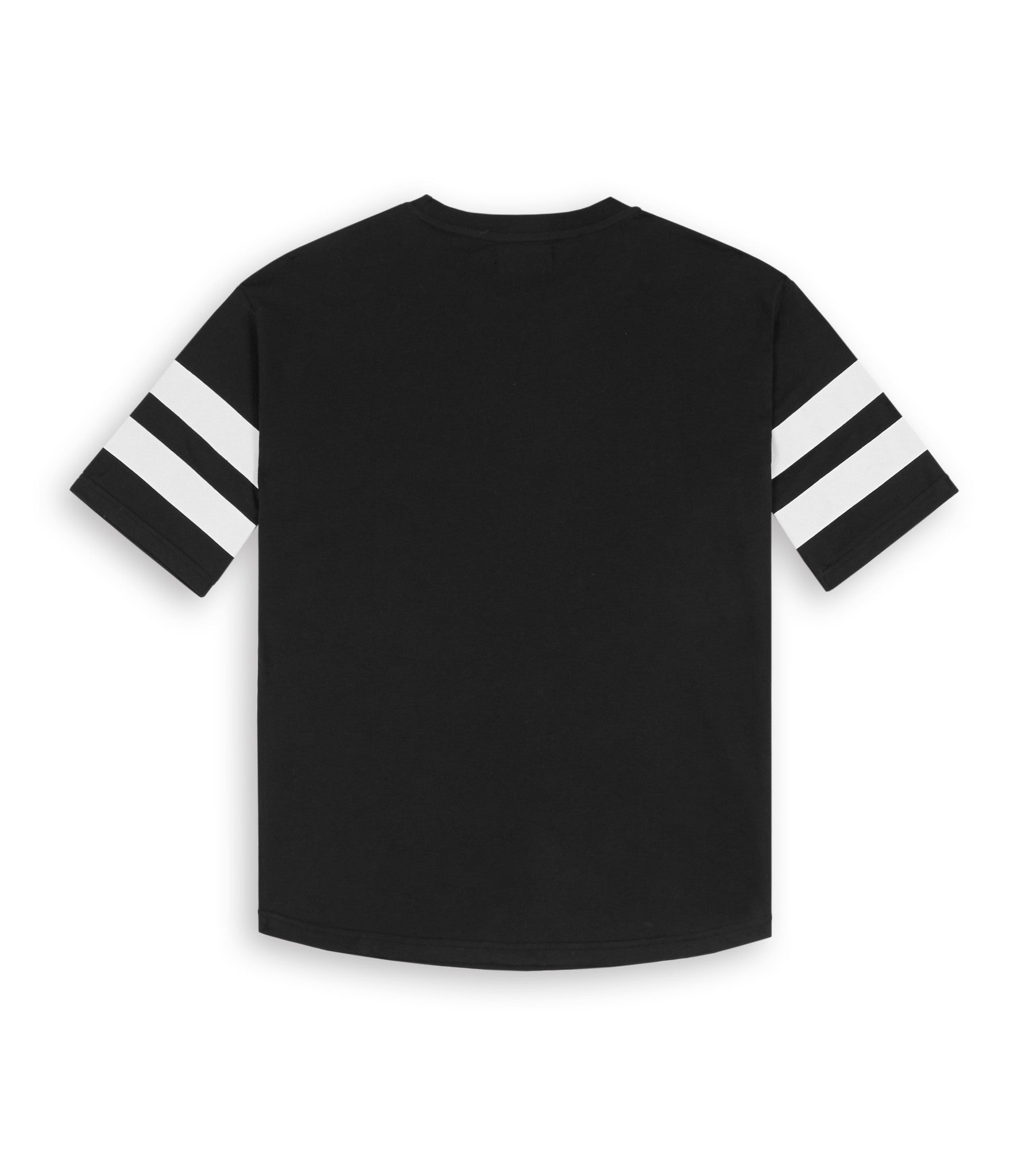 TS404 Print Tee - Black - underated london - underatedco - 4