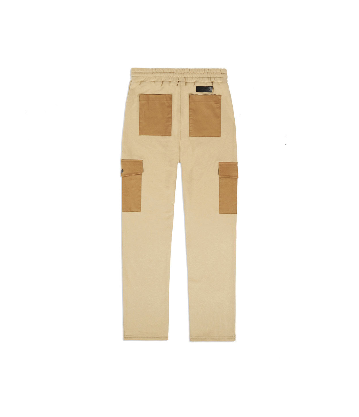 JN381 Utility Cargo Joggers - Beige - underated london - underatedco - 5