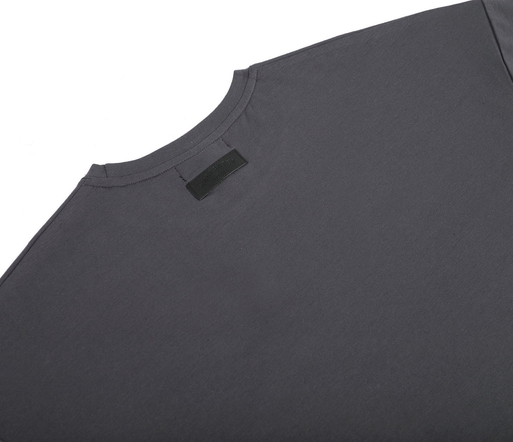 TS362 Hi-Low Oversized Tee - Charcoal - underated london - underatedco - 6