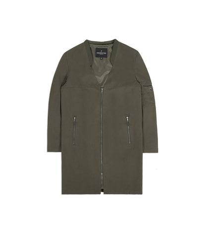 CT338 Utility Messenger Jacket - Khaki - underated london - underatedco - 1
