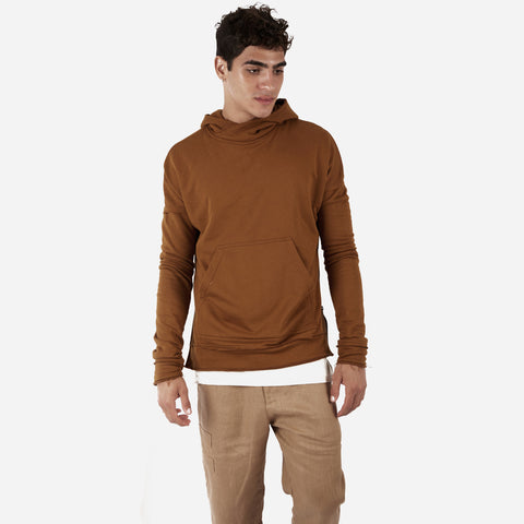 HD315 Exile Oversized Hoody - Clay - underated london - underatedco - 1