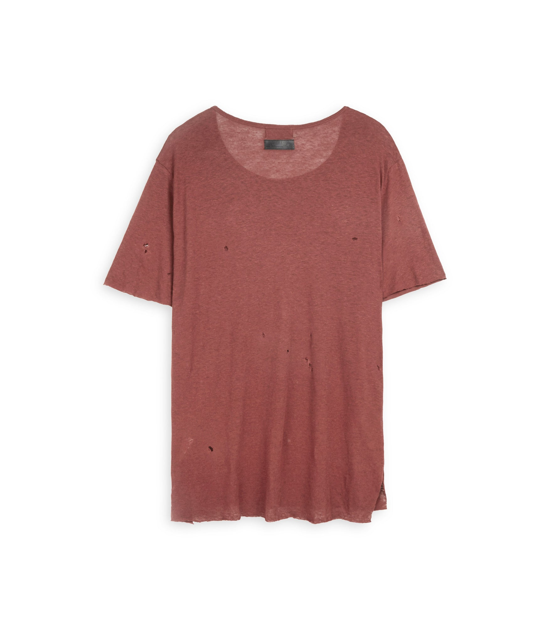 D10V2 Exile Distressed Tee - Rust - underated london - underatedco - 3