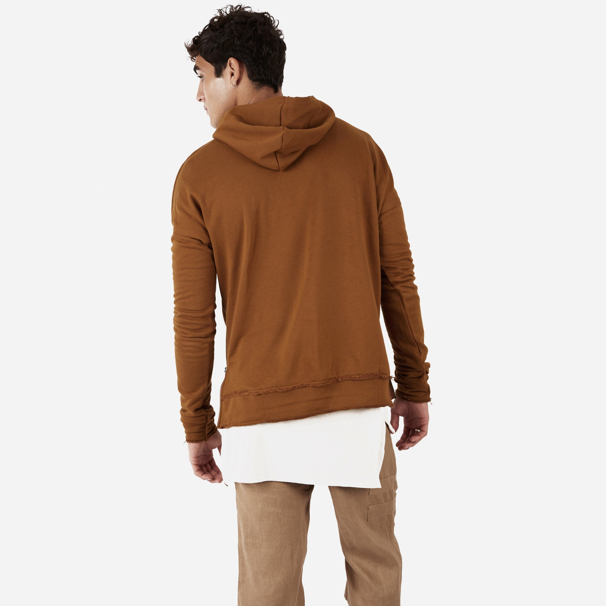 HD315 Exile Oversized Hoody - Clay - underated london - underatedco - 4