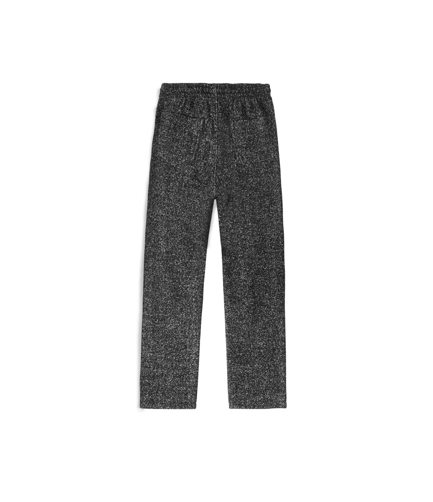 TR254 Mélange Wool Cropped Pants - Black - UNDERATED