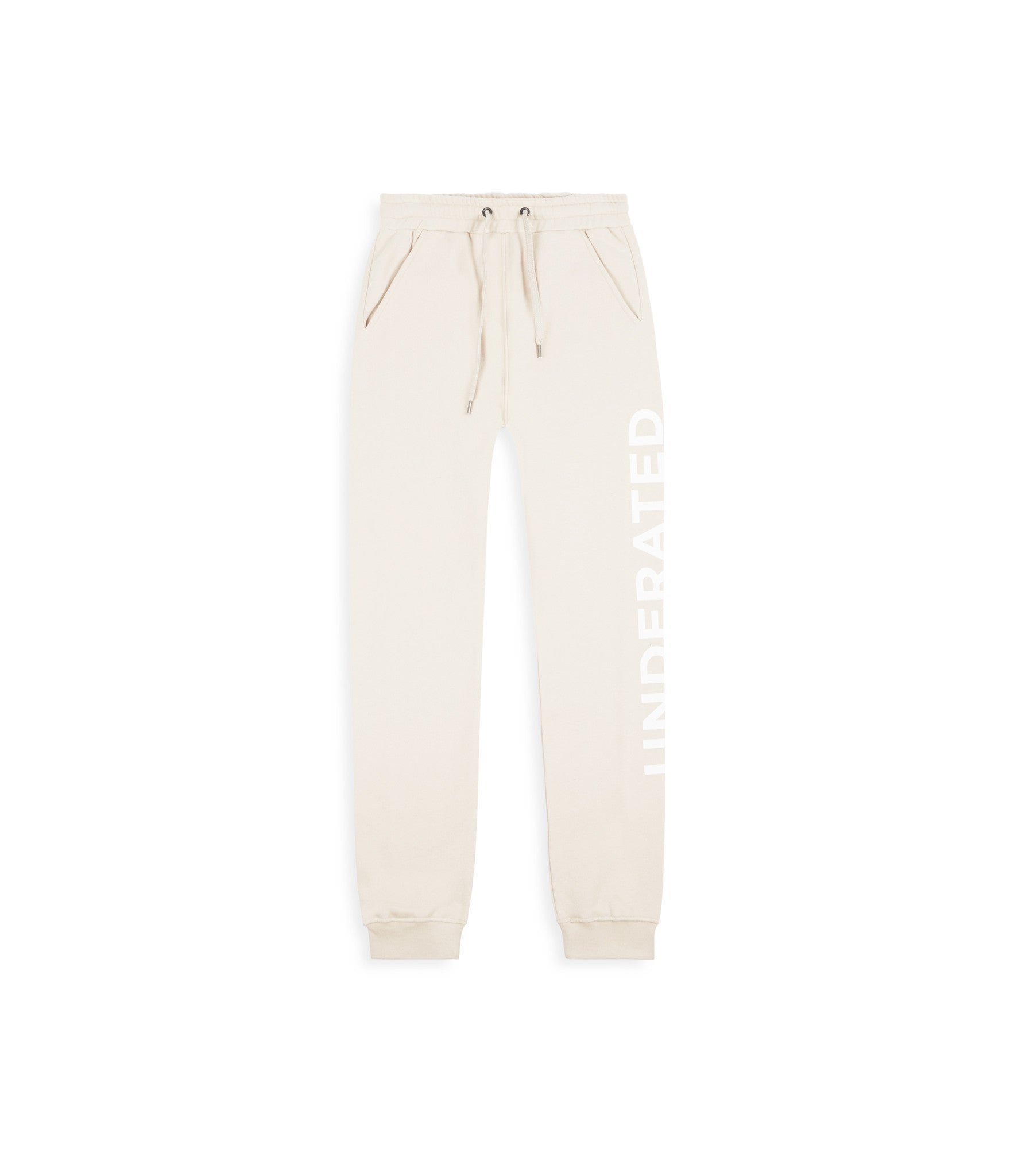 TR351 Essential Printed Joggers - Beige - underated london - underatedco - 1