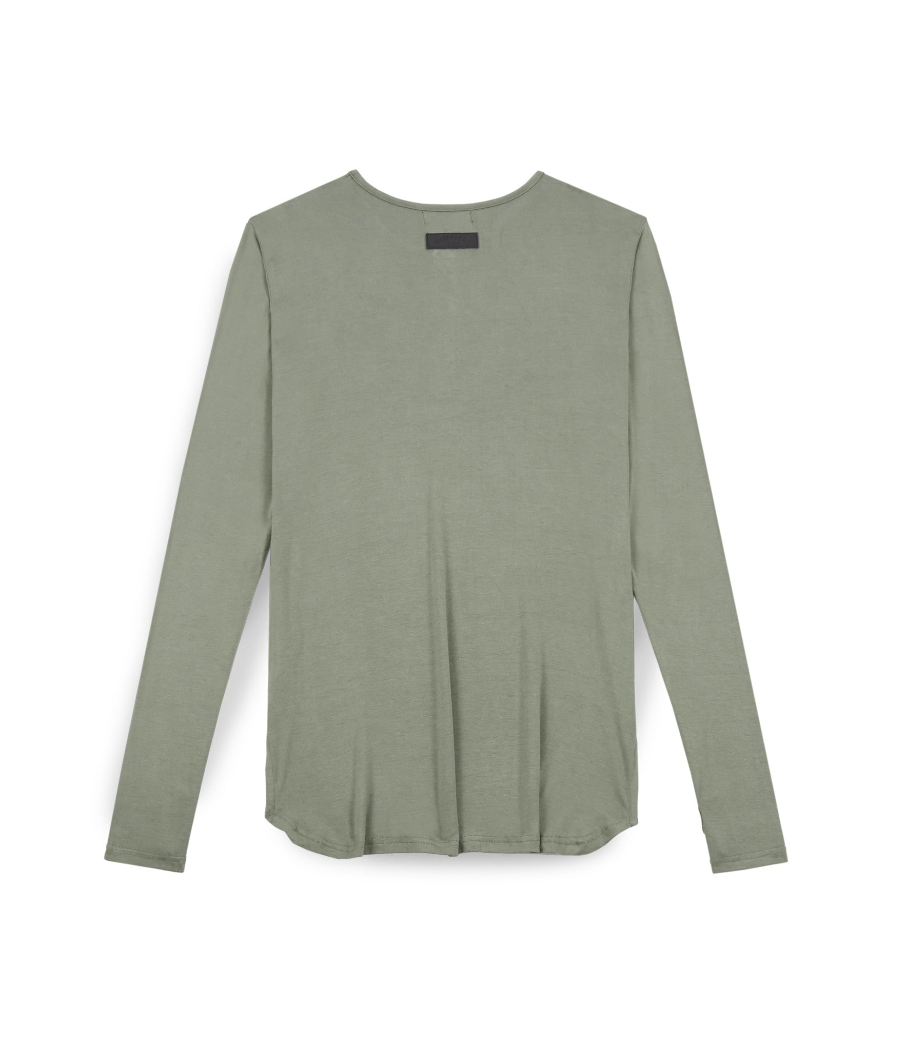 LS264 Under Layer Henley Tee - Khaki - underated london - underatedco - 2