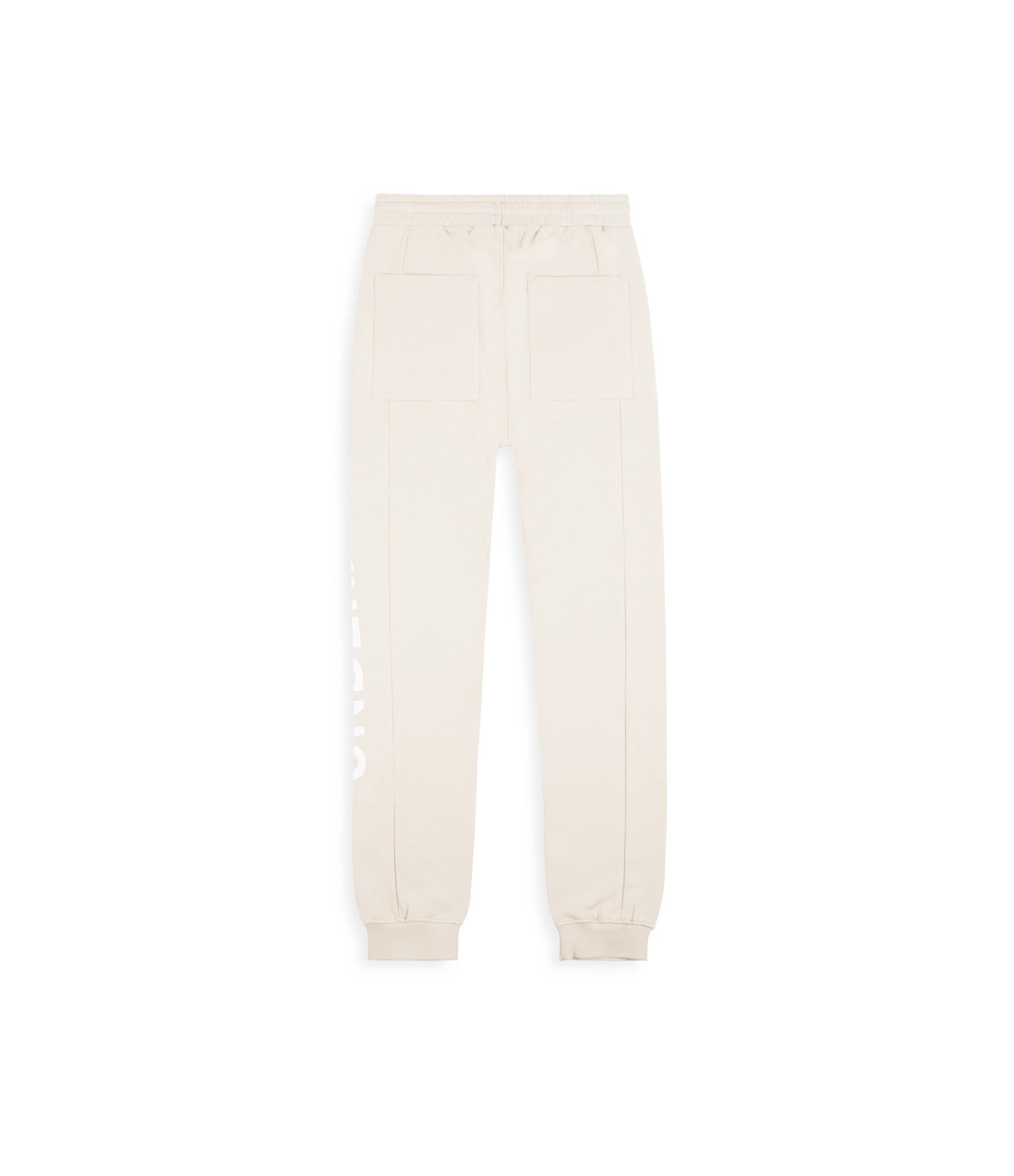 TR351 Essential Printed Joggers - Beige - underated london - underatedco - 2