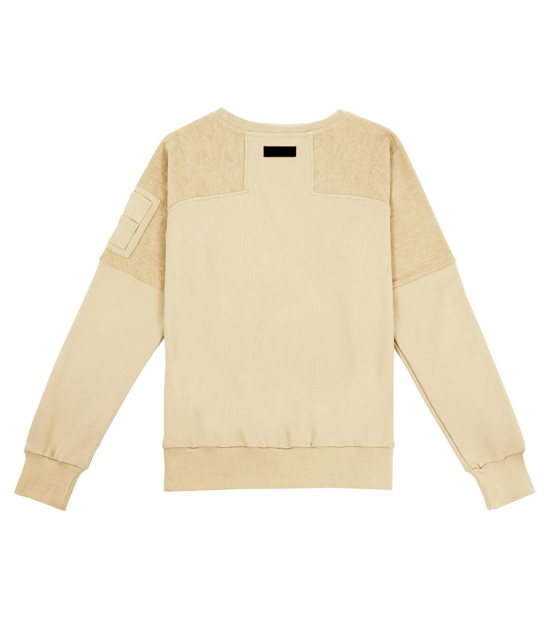 SW229 Oversized Utility Sweatshirt - Beige - underated london - underatedco - 3