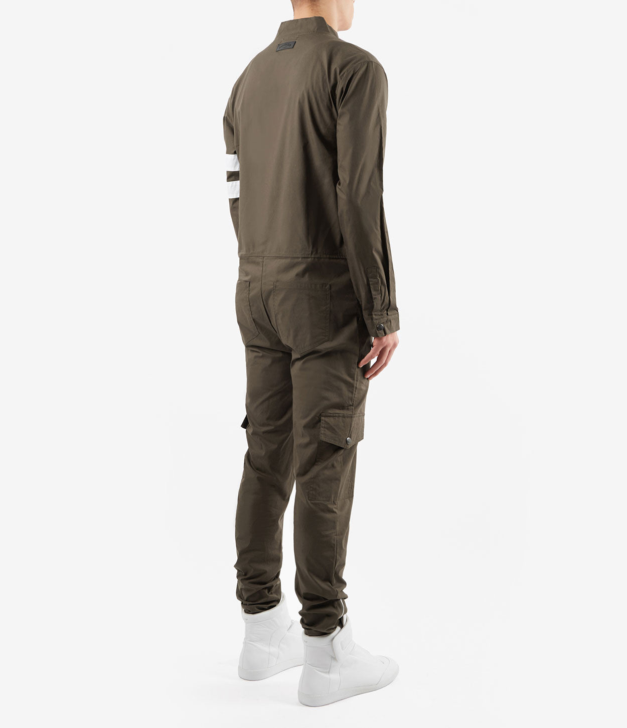 JS368 Boiler Suit - Khaki - underated london - underatedco - 5