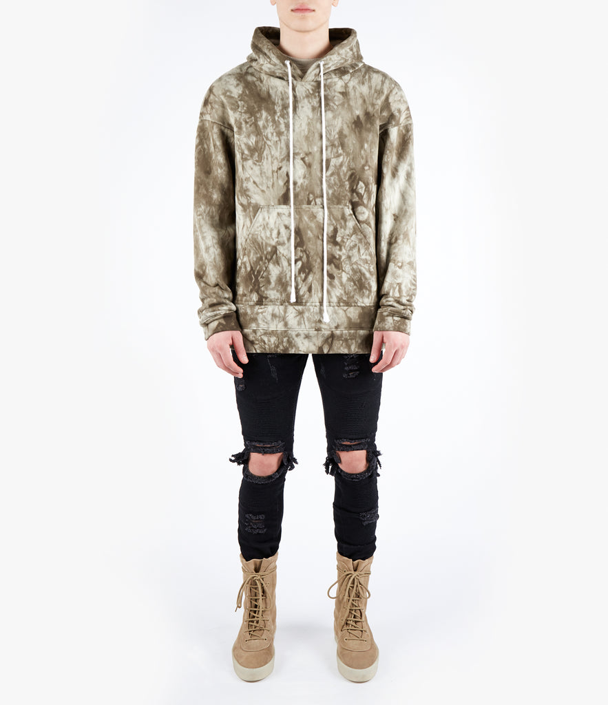 HD417 Oversized Hoody - Khaki - UNDERATED