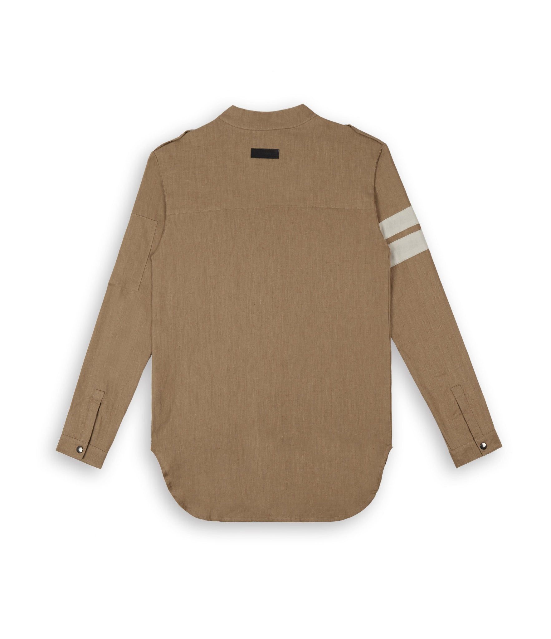 SH273 Exile Military Shirt - Tan - underated london - underatedco - 4