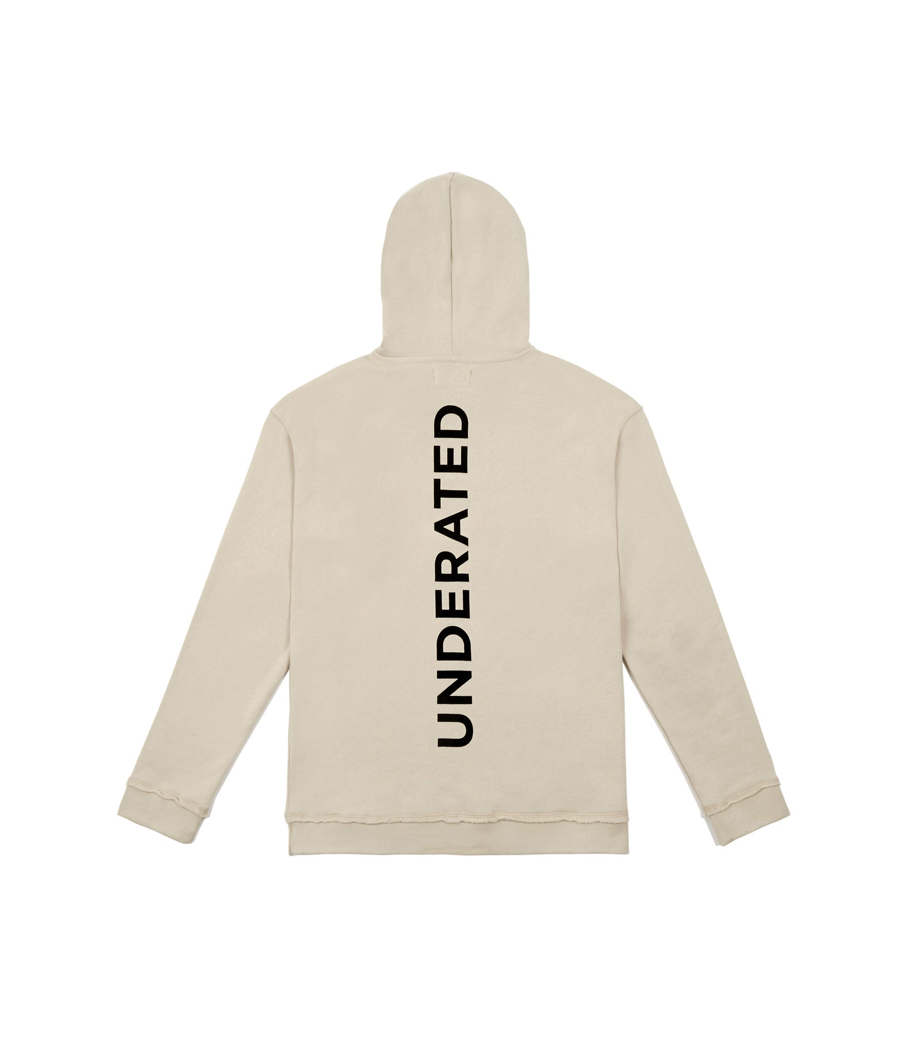HD334 Printed Hoody - Nude - underated london - underatedco - 4