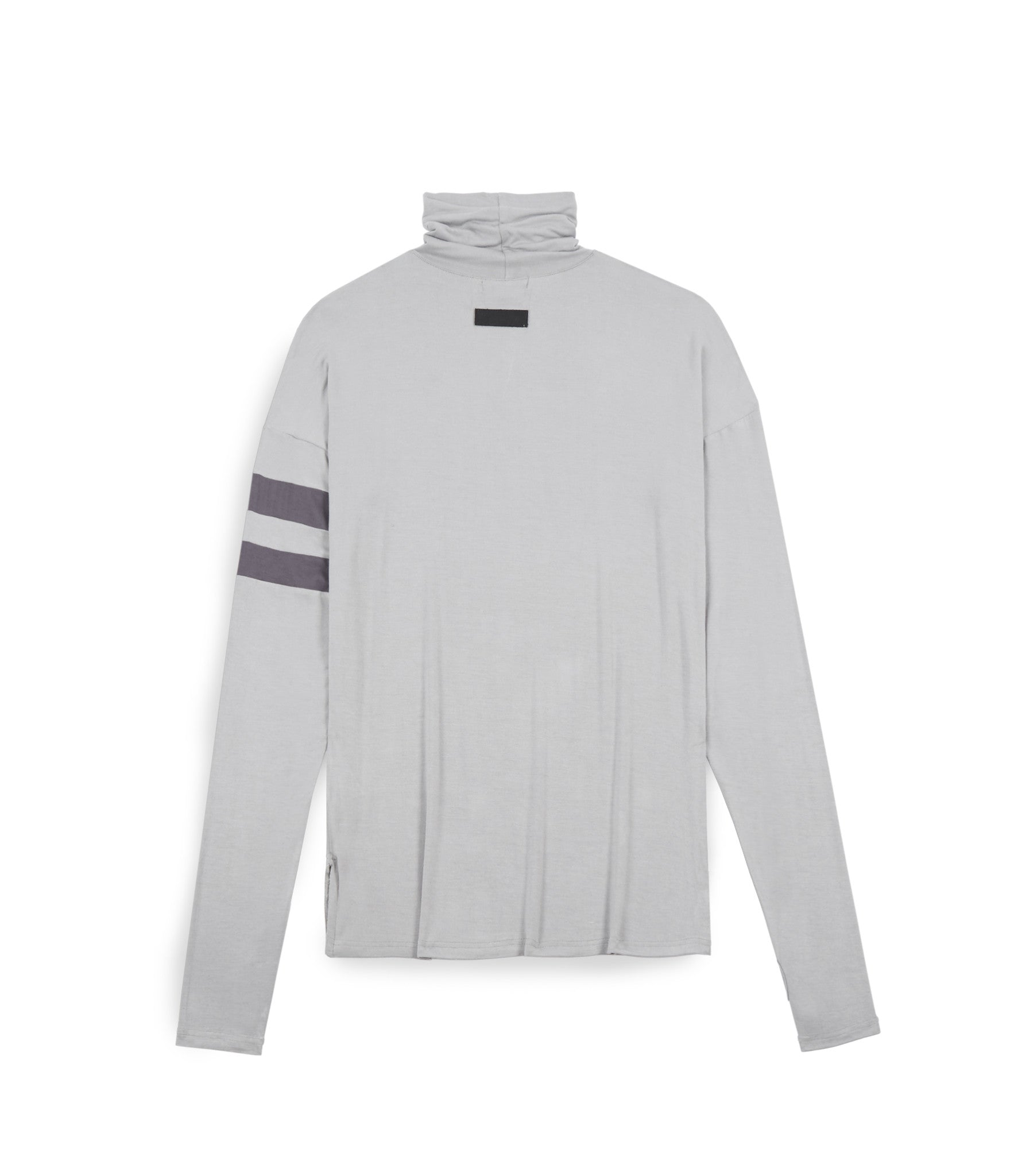 LS105 Roll Neck Under Layer L/S Tee - Ash Grey - underated london - underatedco - 2