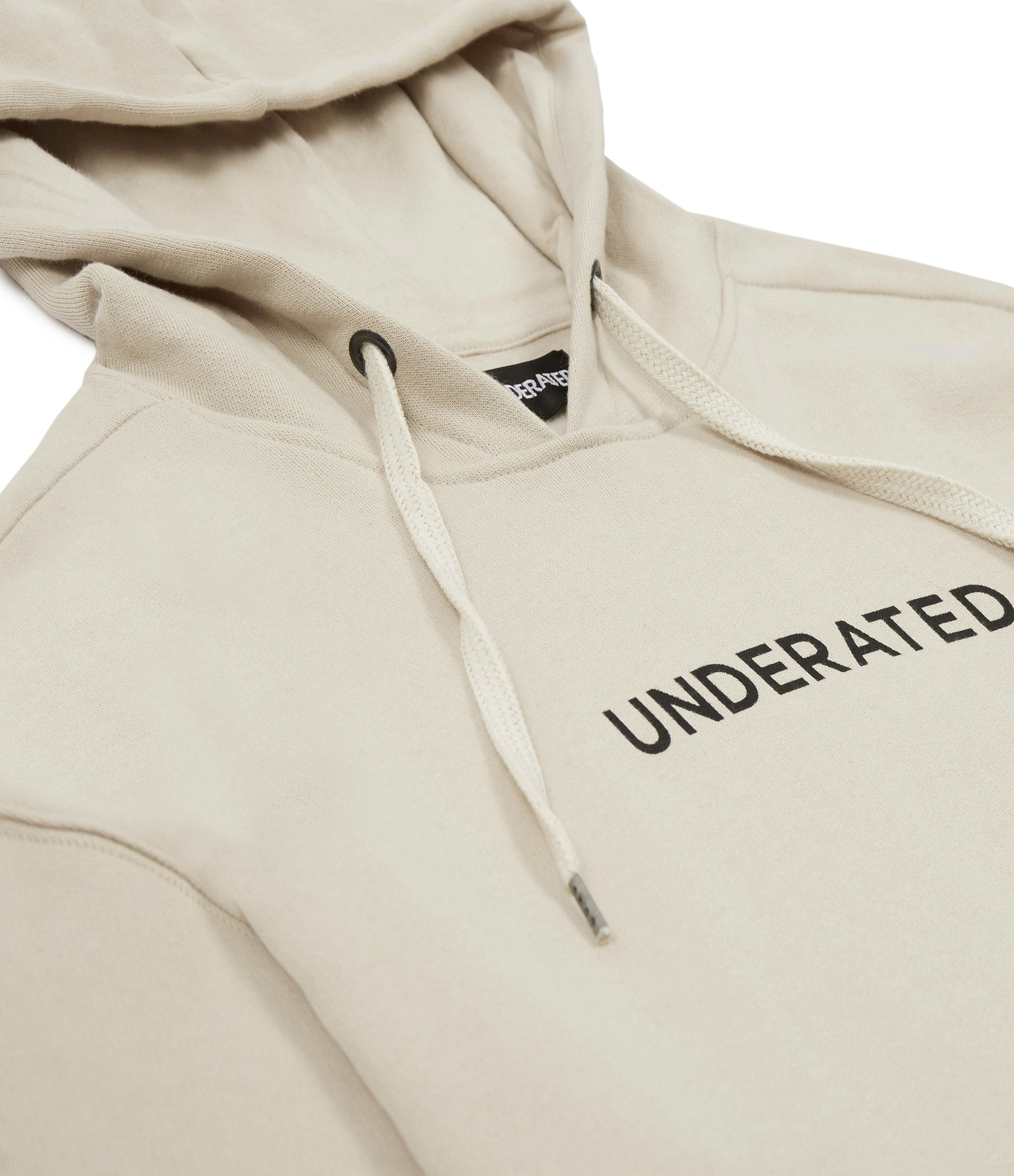 HD334 Printed Hoody - Nude - underated london - underatedco - 2