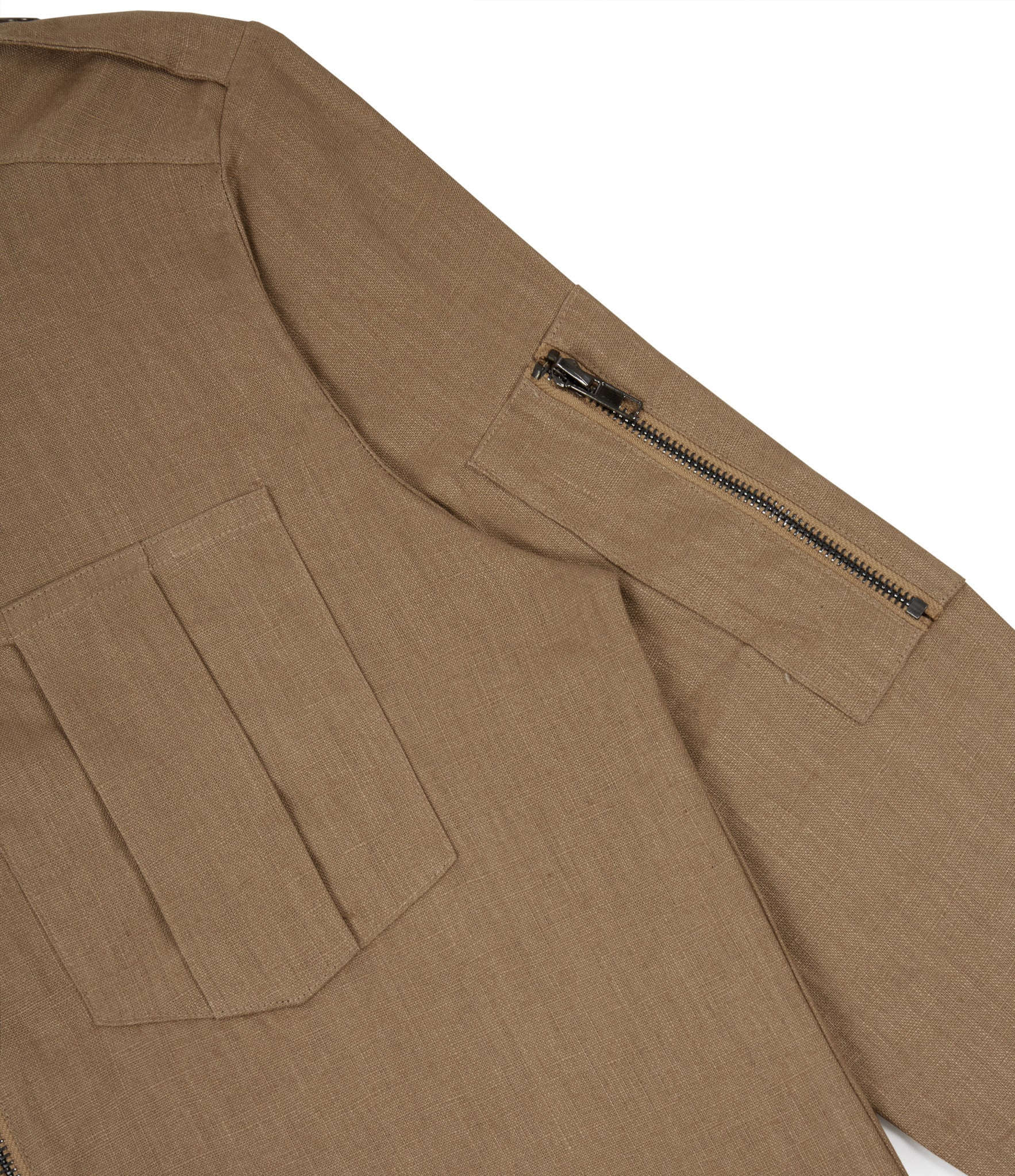 SH273 Exile Military Shirt - Tan - underated london - underatedco - 6