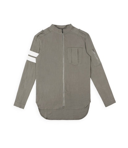 SH273 Exile Military Shirt - Khaki - underated london - underatedco - 4