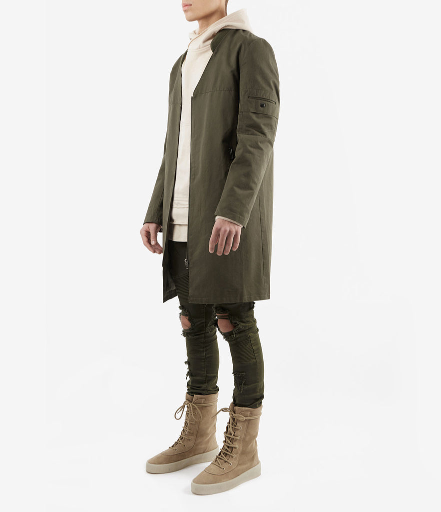 CT338 Utility Messenger Jacket - Khaki - underated london - underatedco - 3