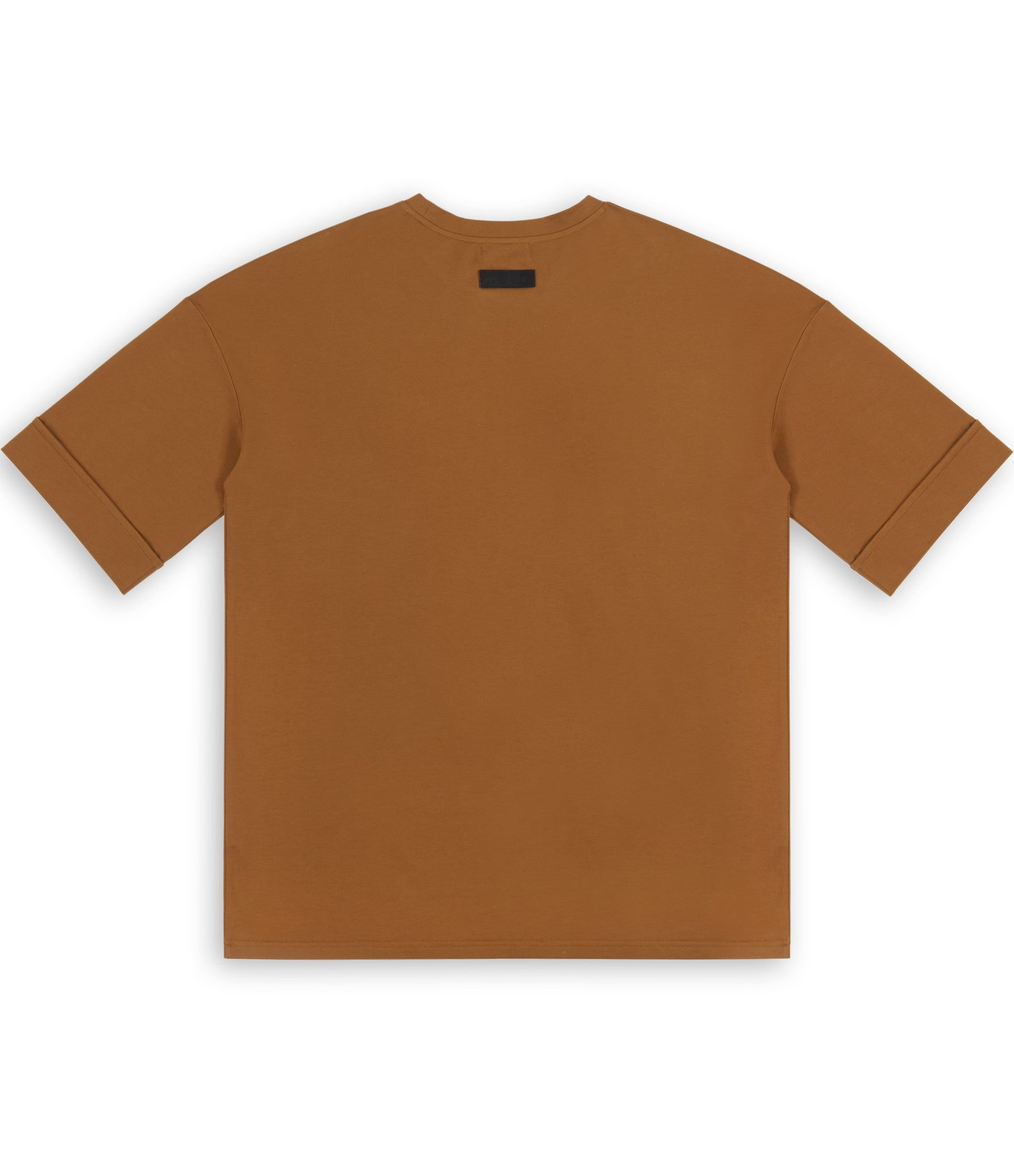 TS271 Oversized Tee - Cognac - underated london - underatedco - 4