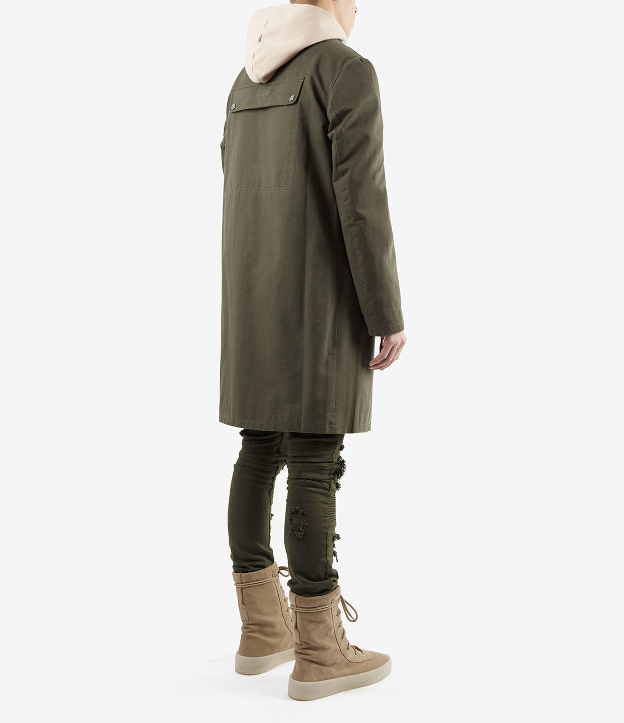 CT338 Utility Messenger Jacket - Khaki - underated london - underatedco - 4