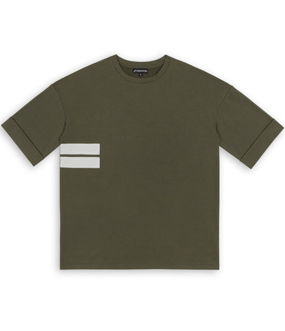 TS271 Oversized Tee - Khaki - underated london - underatedco - 1
