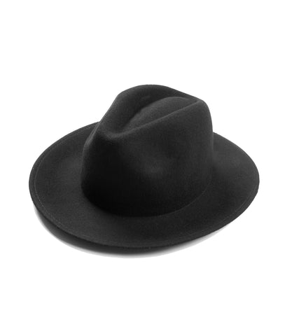 Dillinger Fedora Hat - Black - underated london - underatedco - 1
