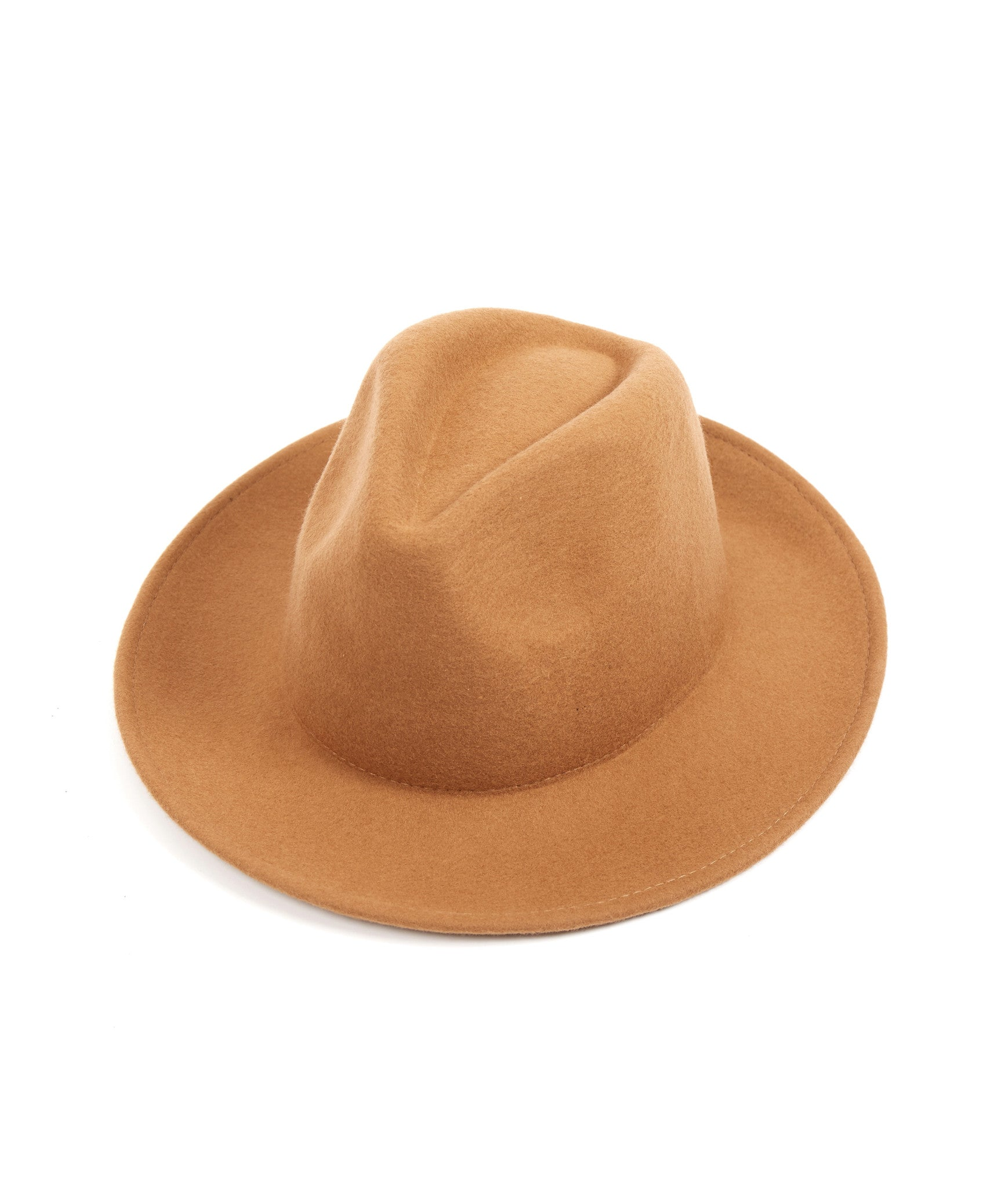 Dillinger Fedora Hat - Camel - underated london - underatedco - 1