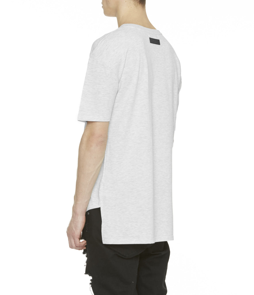 TS263 Drop Shoulder Oversized Tee - Heather Grey - underated london - underatedco - 7