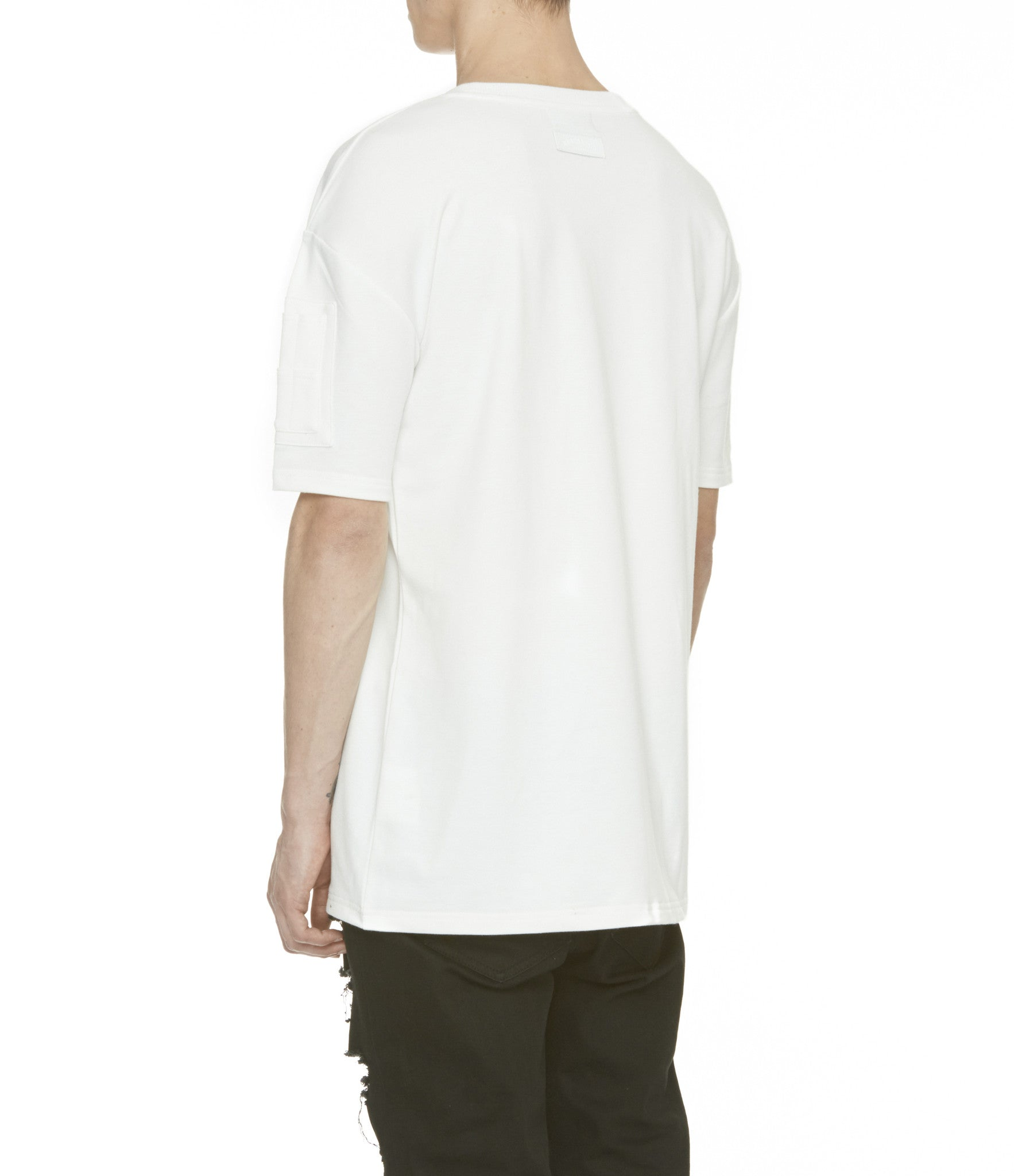 TS222 Drop Shoulder Utility Tee - Off White - underated london - underatedco - 7