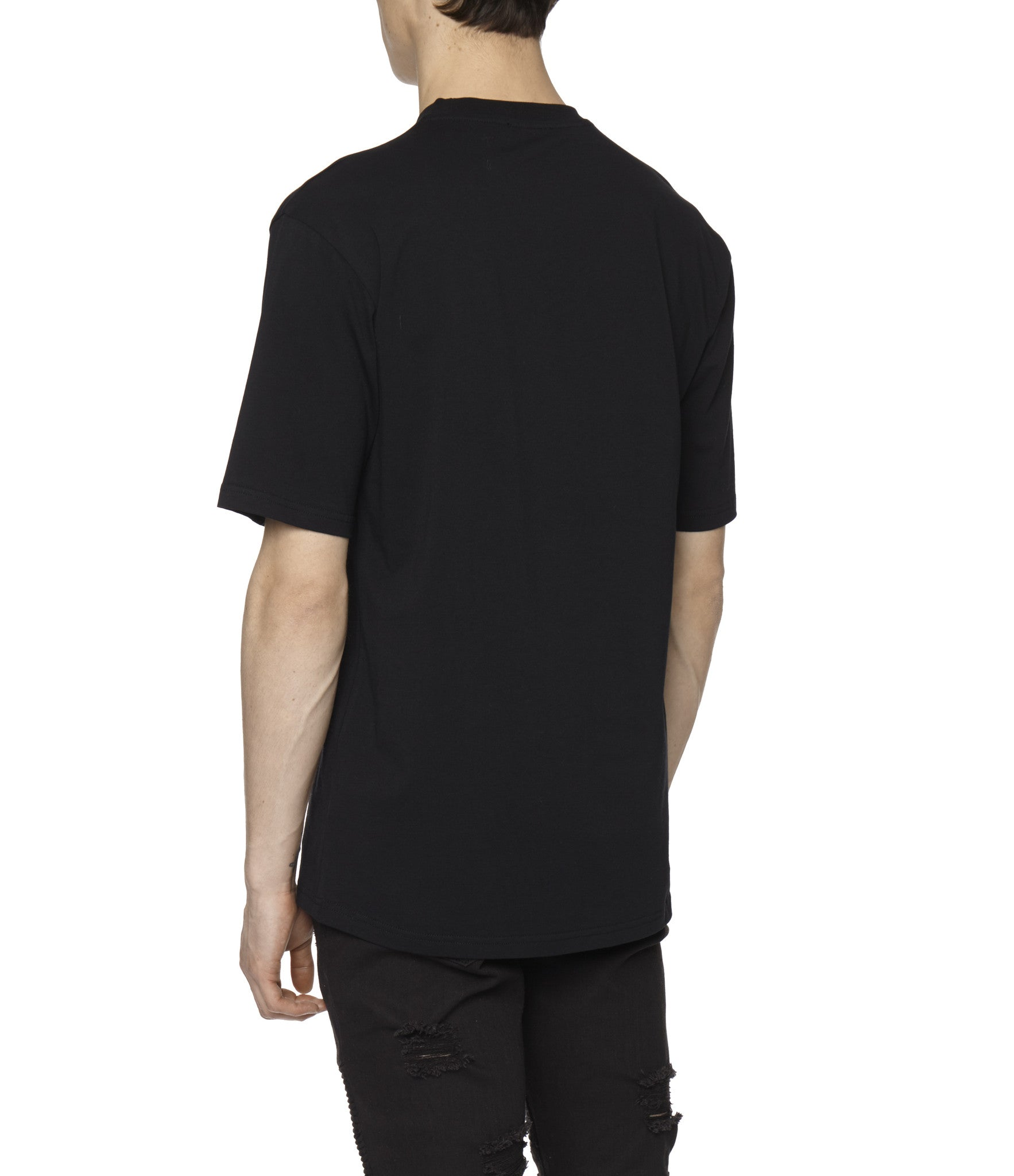 TS319 Box Logo Printed Tee - Black - underated london - underatedco - 6