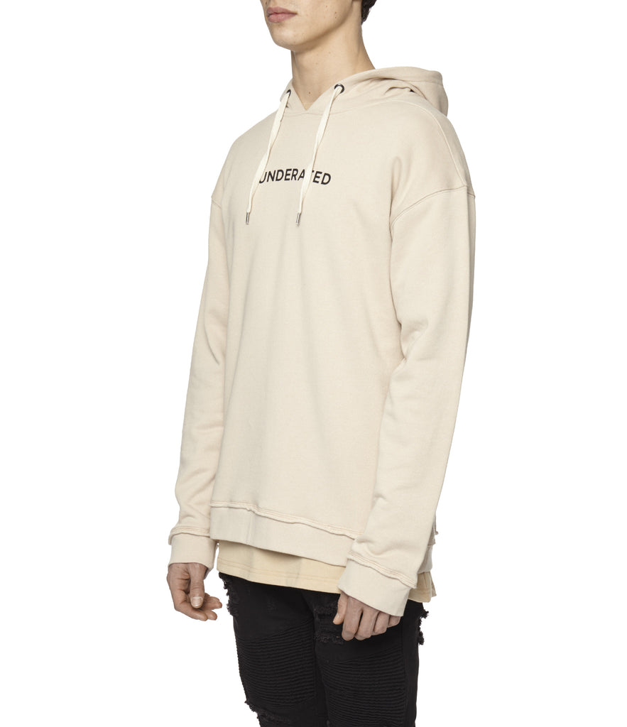 HD334 Printed Hoody - Nude - underated london - underatedco - 6