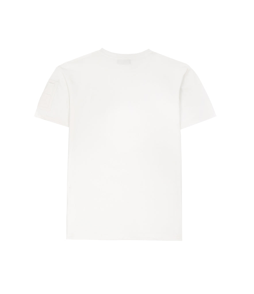 TS222 Drop Shoulder Utility Tee - Off White - underated london - underatedco - 5