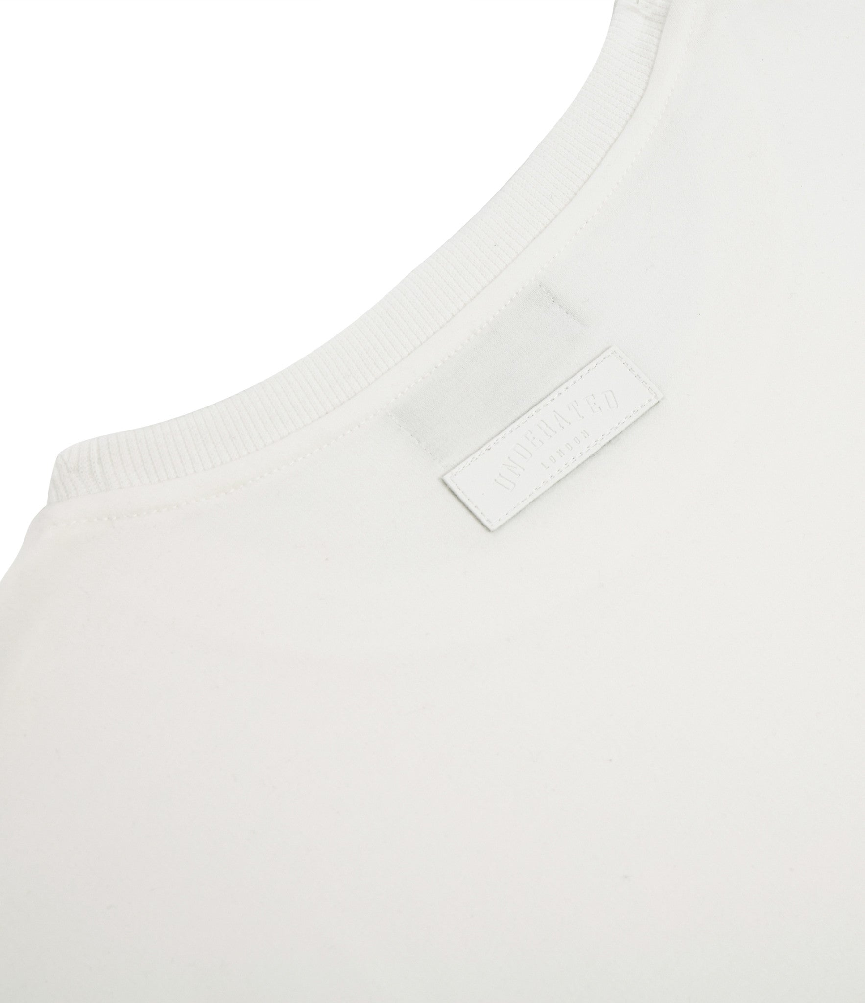 TS222 Drop Shoulder Utility Tee - Off White - underated london - underatedco - 3